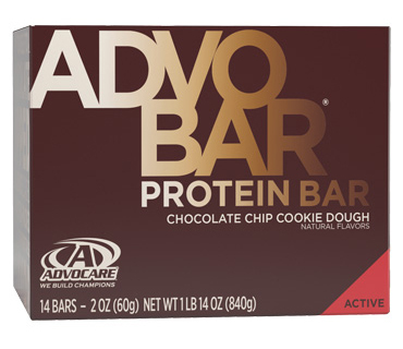 AdvoBar<sup>®</sup> Protein Chocolate Chip Cookie Dough