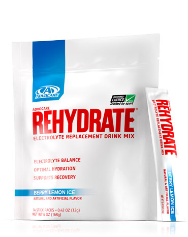 AdvoCare Rehydrate® Single Servings