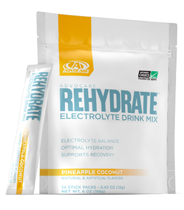 AdvoCare Rehydrate® Stick Packs, Pineapple Coconut