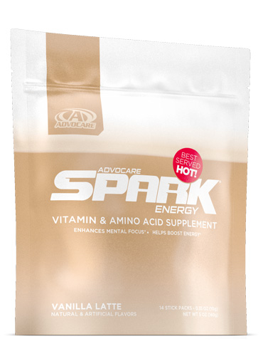 Spark® Stick Packs, Vanilla Latte