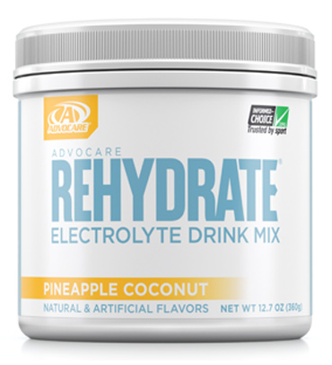AdvoCare Rehydrate® Canister, Pineapple Coconut