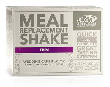 Meal Replacement Shake Wedding Cake