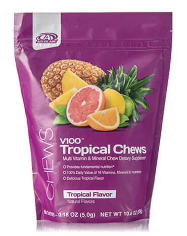"V100â""¢ Tropical Chews"