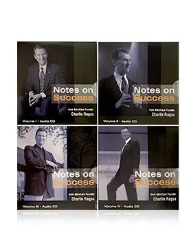 Charlie Ragus - Notes on Success Volumes 1 - 4