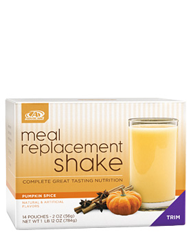 Meal Replacement Shake, Pumpkin Spice