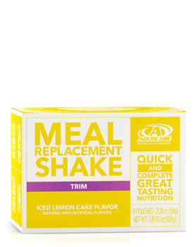 Meal Replacement Shake, Iced Lemon Cake