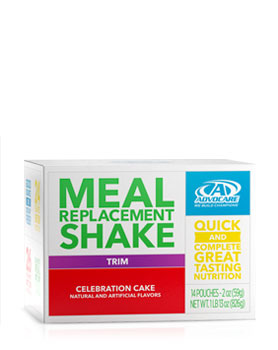 Meal Replacement Shake Celebration Cake