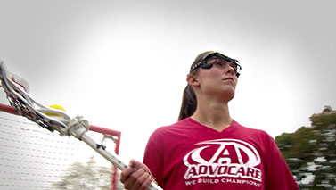 A US National lacrosse player, she uses AdvoCare products to feel better, stronger and more confident.